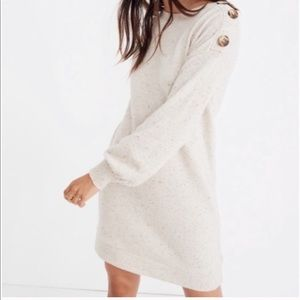 Madewell Boatneck Wool Swearer Dress XXL